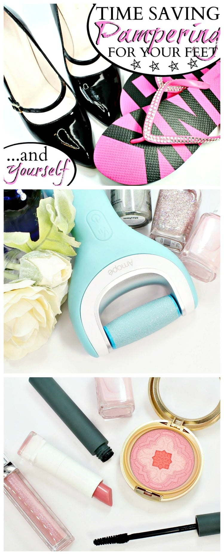 Time Saving Pampering for Your Feet and yourself pinterest
