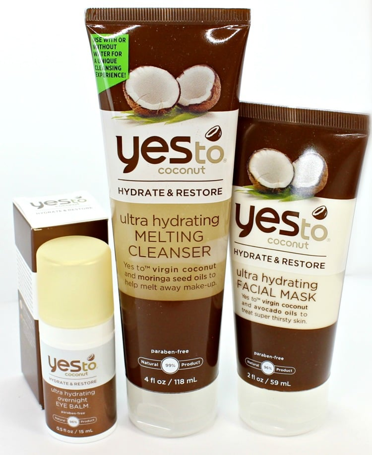 Yes to Coconut skincare review