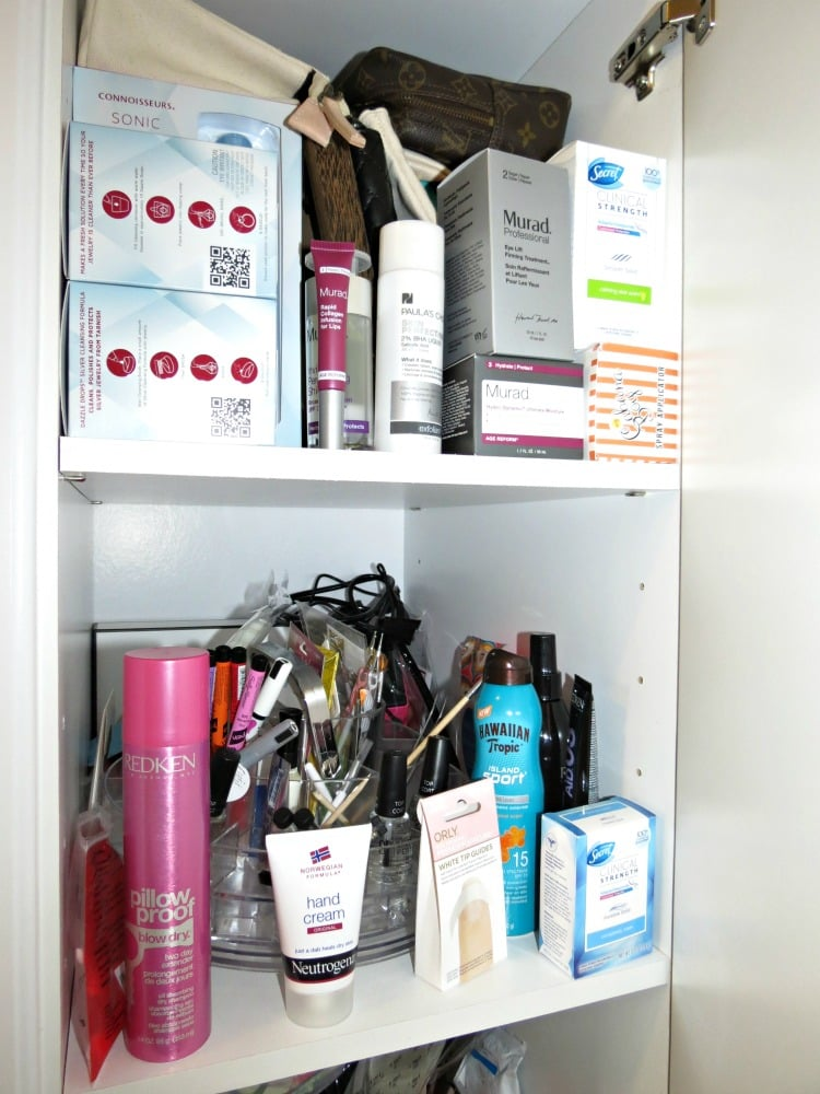 beauty makeup storage organization cabinet