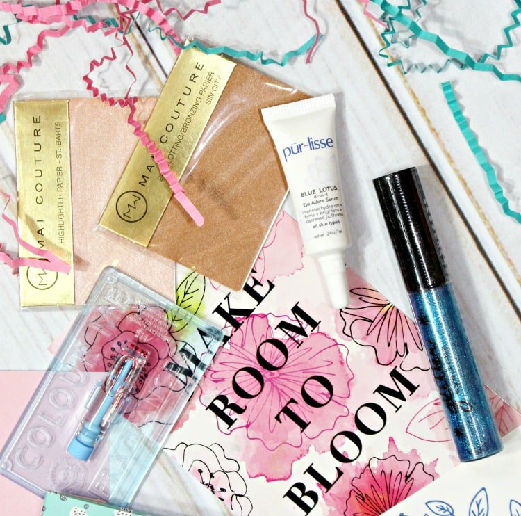 Beauty Box 5 March Mai Couture Pur-lisse Glamour dolls swatches