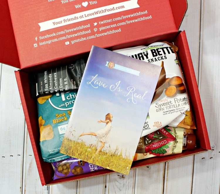 Love With Food Gluten Free Subscription Box