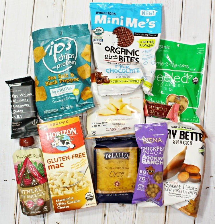 Love With Food Subscription Box Gluten Free Snacks