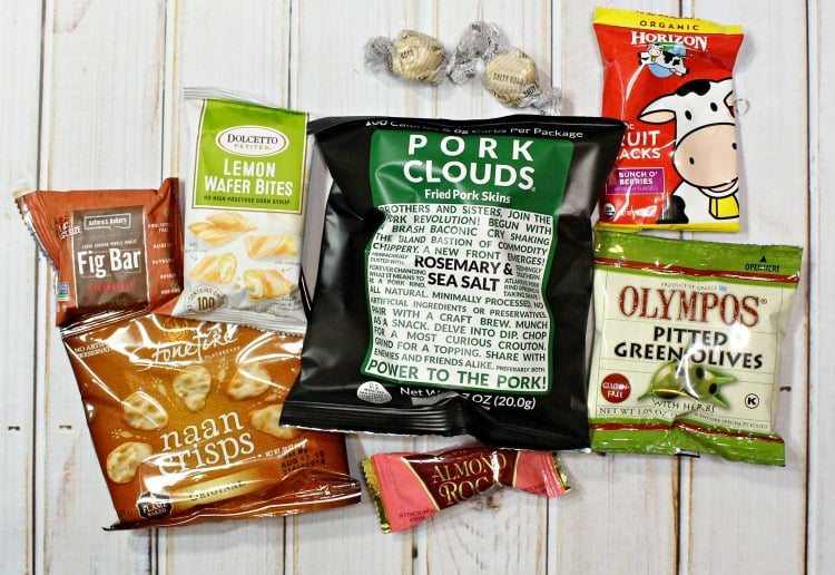 Love With Food Tasting Box Snacks