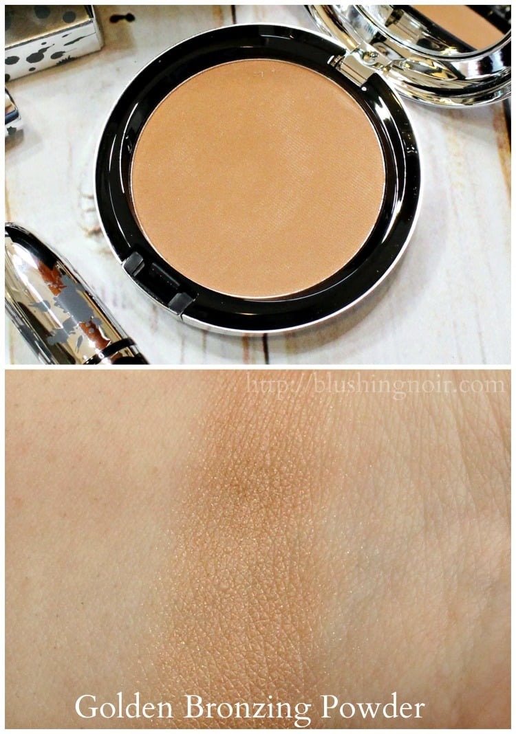 MAC Brooke Candy Golden Bronzing Powder Swatches