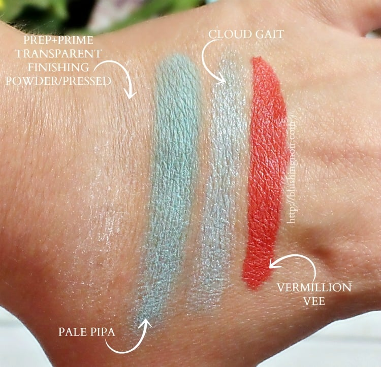 MAC Chris Chang Makeup Collection Swatches