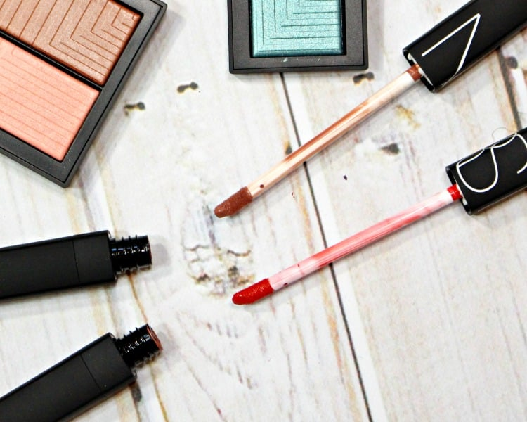 NARS Overheated Do Not Disturb Lip Cover swatches review
