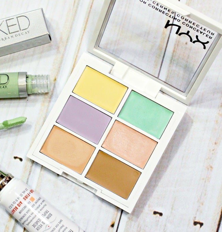 NYX Cosmetics Color Correcting Concealer review