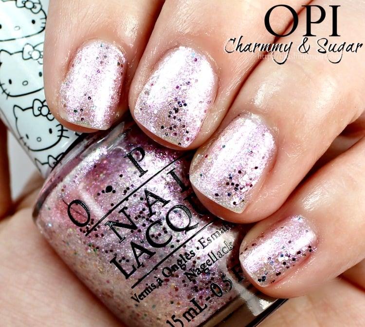 OPI Charmmy & Sugar Nail Polish Swatches