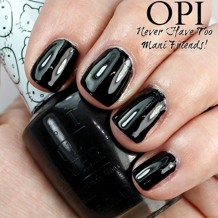 OPI Never Have Too Mani Friends Nail Polish Swatches