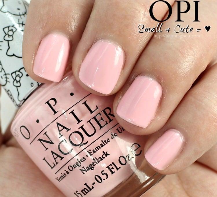 OPI Small + Cute = ♥ Nail Polish Swatches