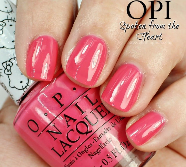 OPI Spoken From the Heart Swatches + Review