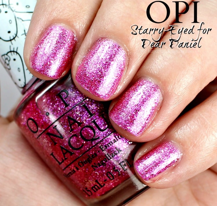 OPI Starry-Eyed for Dear Daniel Nail Polish Swatches