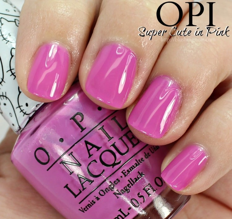 OPI Super Cute in Pink Nail Polish Swatches