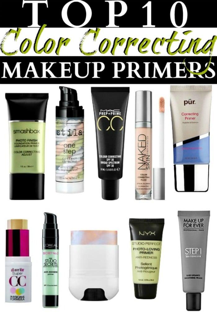 Top 10 Color Correcting Makeup Primers
