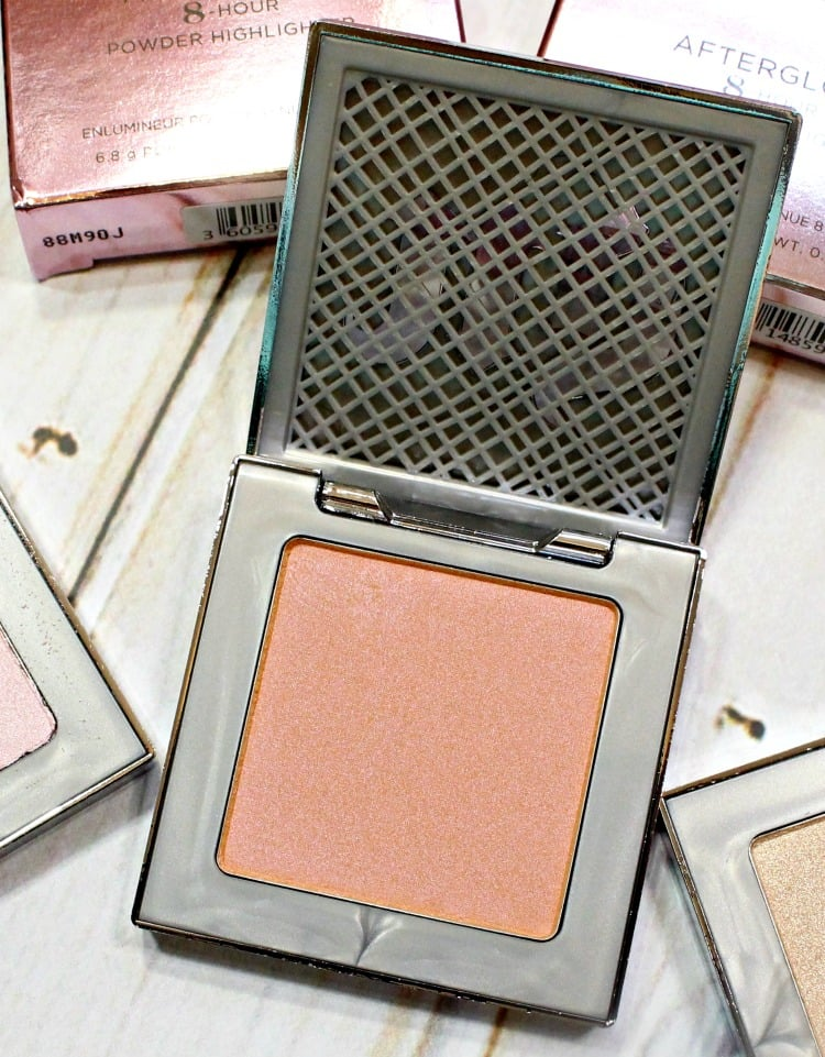 Urban Decay Fireball Afterglow Highlighter swatches
