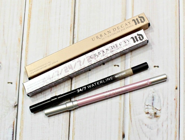 Urban Decay Heartless 247 Glide-On Eye Pencil swatches