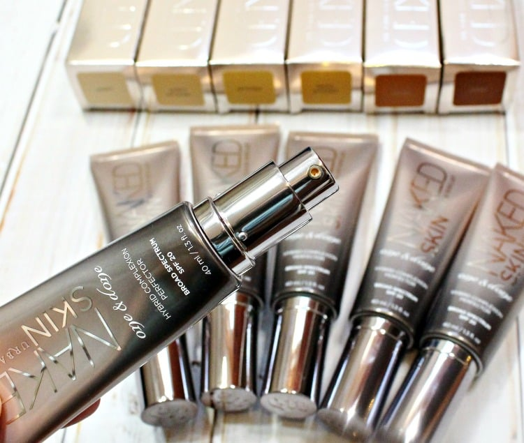 Urban Decay Naked Skin One & Done Broad Spectrum SPF20 foundation complexion perfector review