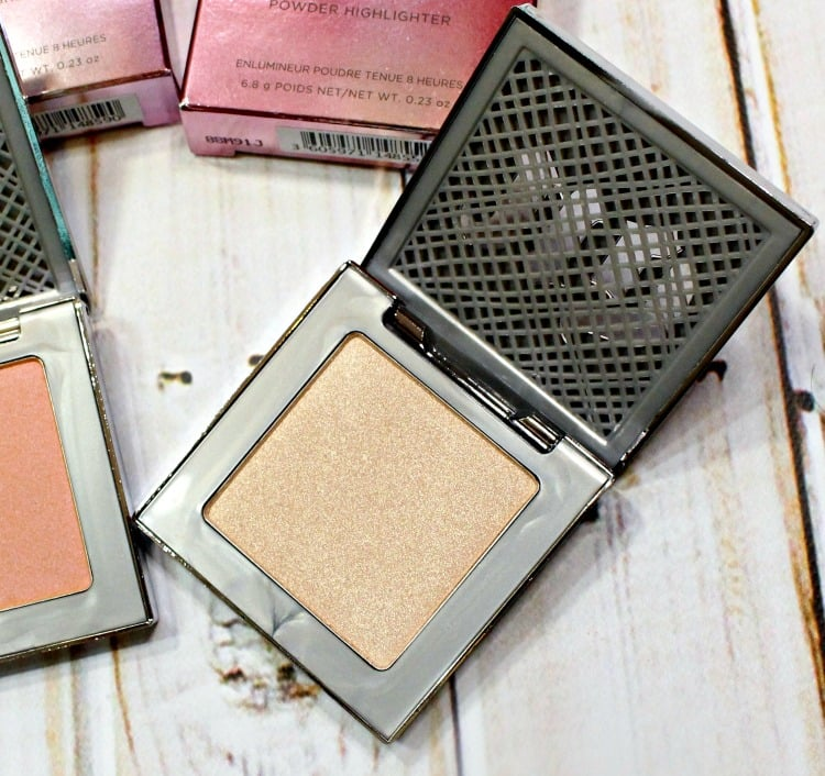 Urban Decay Sin Afterglow Highlighter swatches