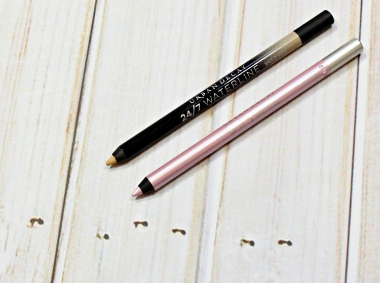 Urban Decay Walk of Shame 247 Waterline Eye Pencil Swatches