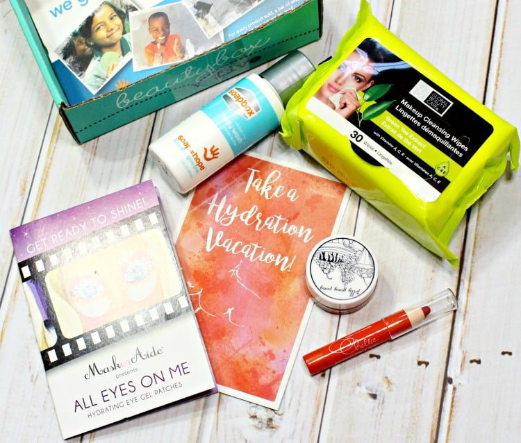 April 2016 BEAUTY BOX 5 Photos, Swatches & Review