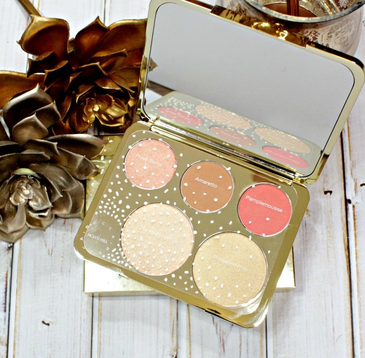 Becca x Jaclyn Hill Champagne Pop Face Palette review photos swatches prosecco pop rose spritz amaretto pamplemousse