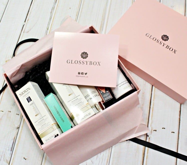 May 2016 Glossybox Swatches & Review