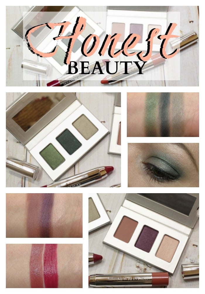 Honest Beauty swatches review makeup beauty jessica alba