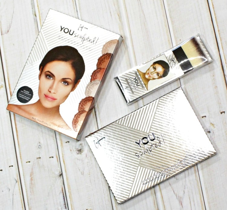 IT Cosmetics YOU Sculpted Face & Body Contouring palette review