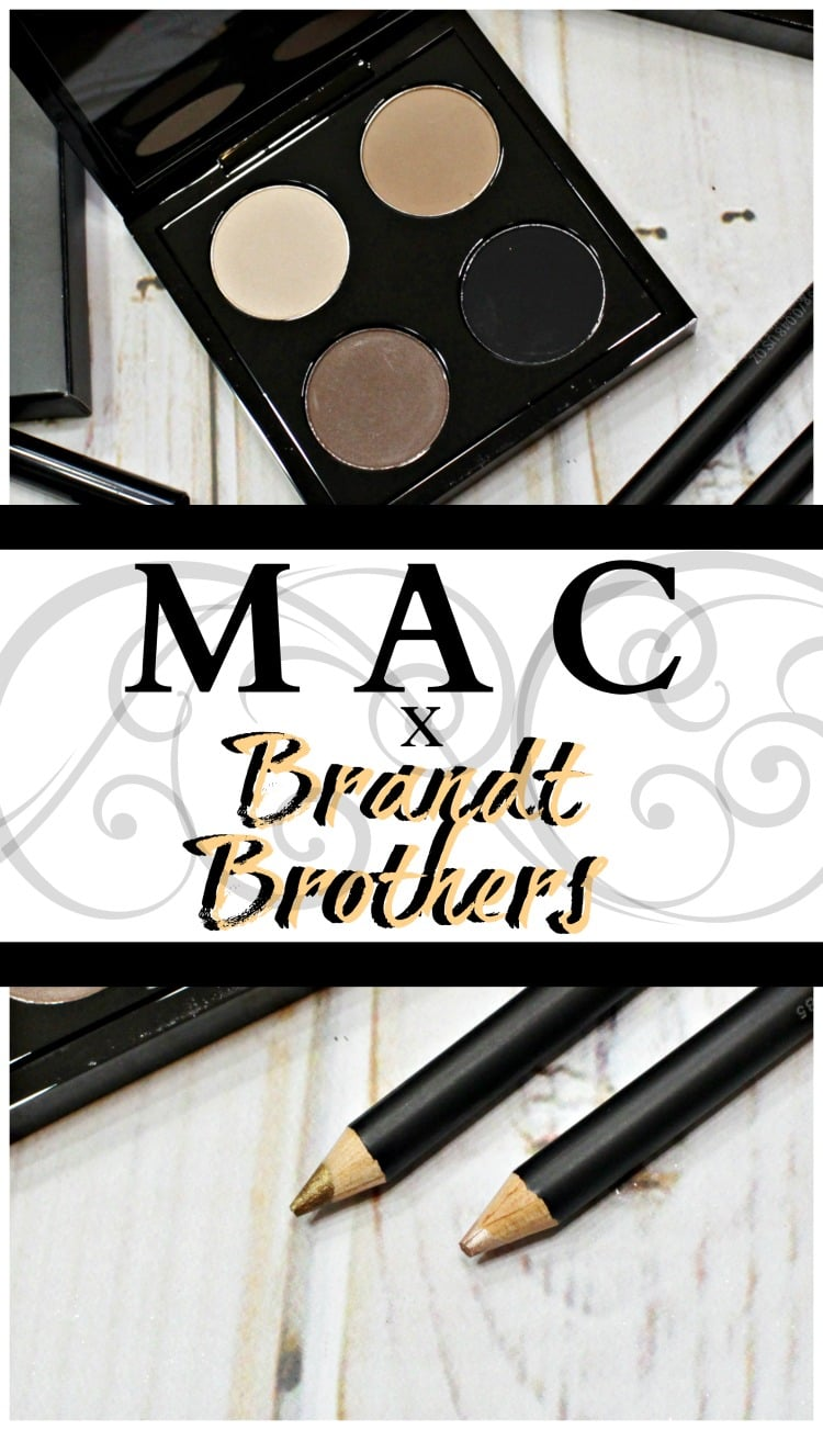 MAC Brant Brothers Makeup Collection swatches review pinterest