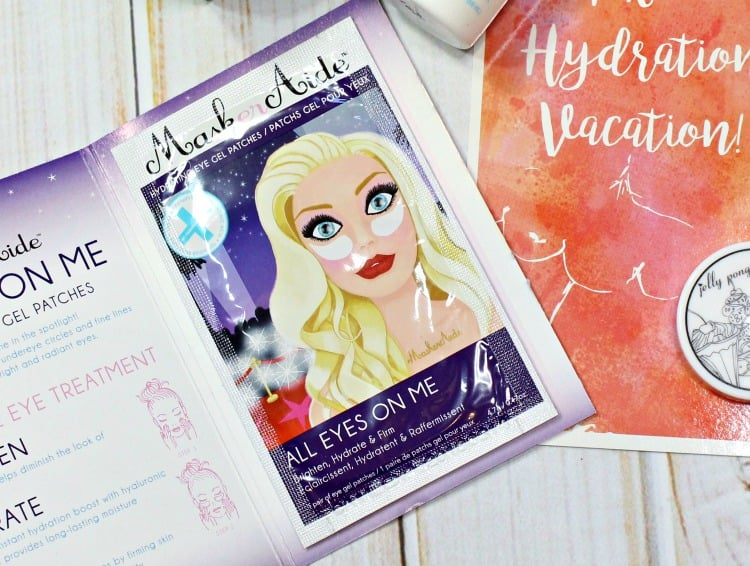 Maskeraide All Eyes on Me Hydrating Eye Gels review