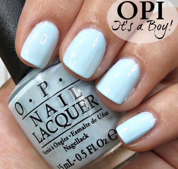 OPI It's a Boy Nail Polish Swatches