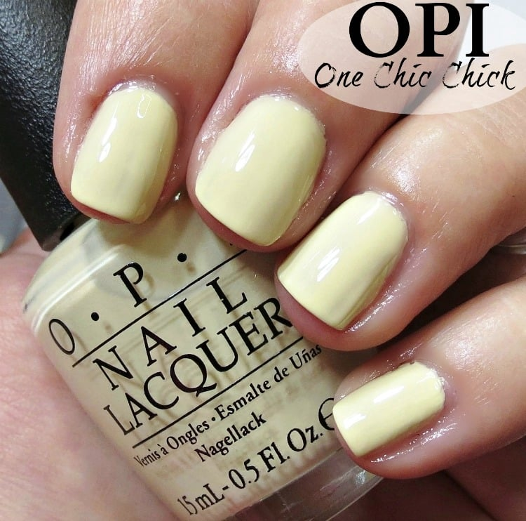 OPI One Chic Chick Nail Polish Swatches
