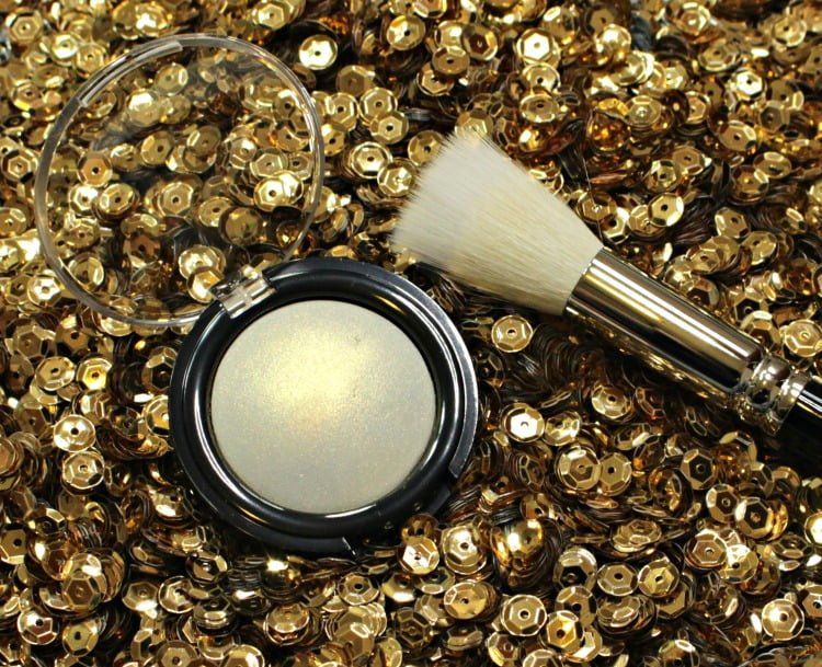 Pat McGrath Labs Golden Skinfetish 003 swatches review brush