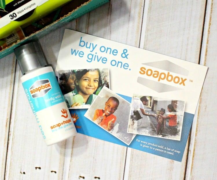 Soapbox Sea Minerals Body Wash review