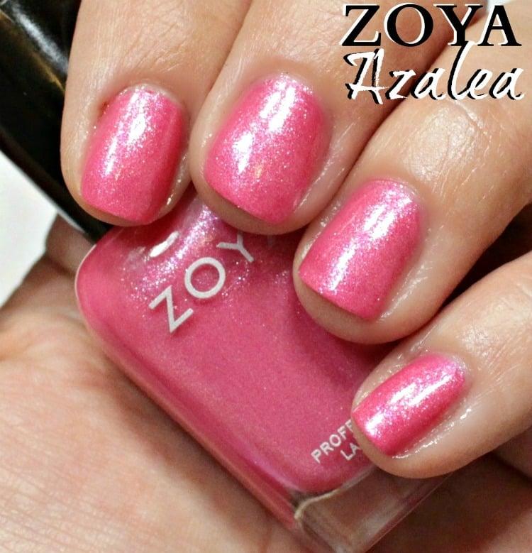 Zoya Azalea Nail Polish Swatches