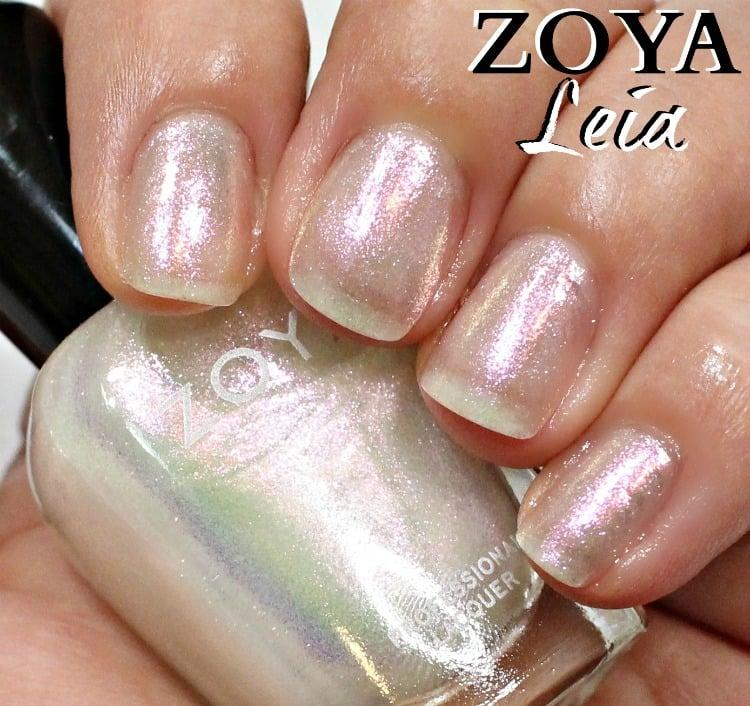 Zoya Leia Nail Polish Swatches