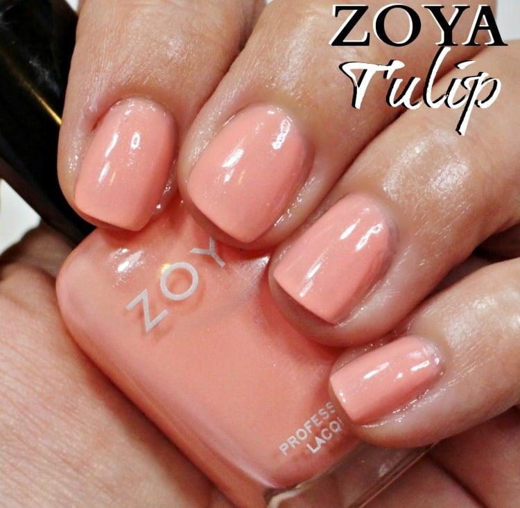 Zoya Tulip Nail Polish Swatches