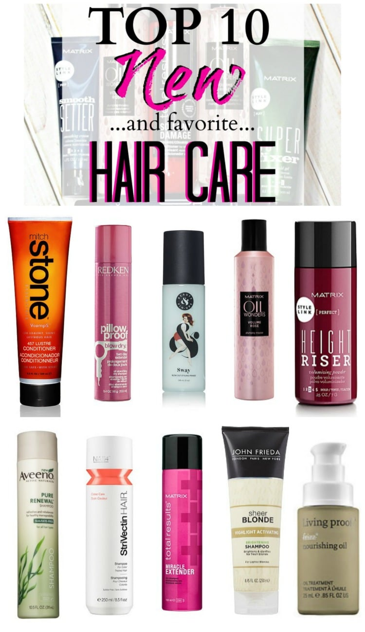 top 10 new haircare pinterest
