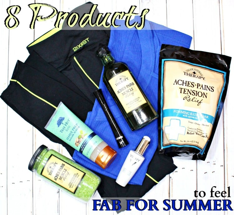 8 Products to Feel Summer Fab!