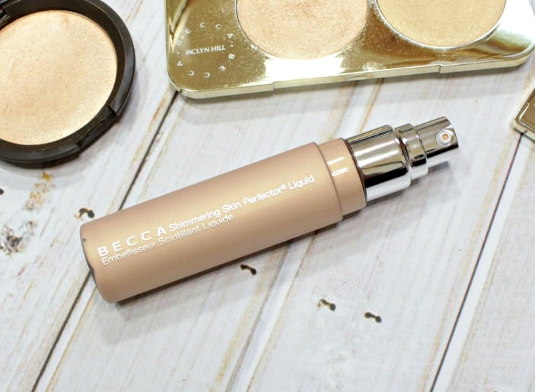 BECCA x Jaclyn Hill Champagne Pop Shimmering Skin Perfector Liquid swatches review