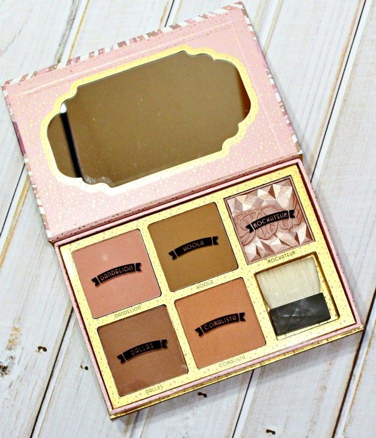 Benefit Cheekathon Blush Bronzer palette pics review swatch