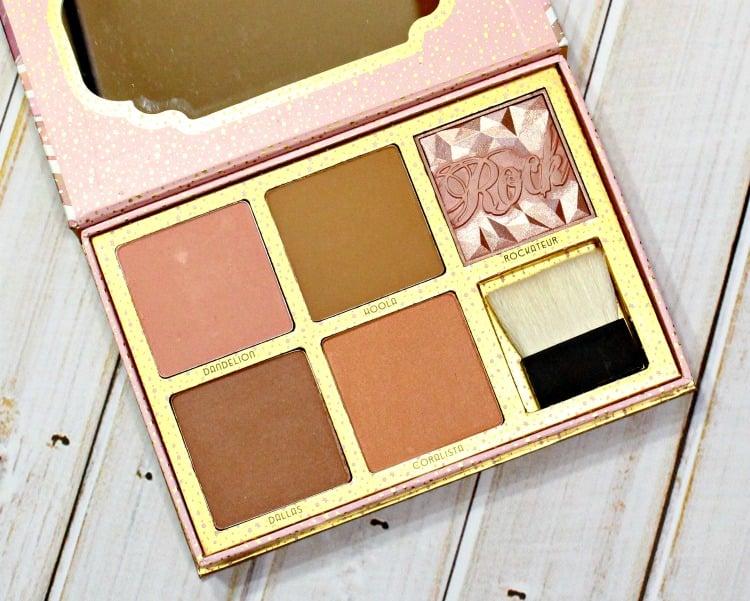 Benefit Cosmetics Cheekathon Blush & Bronzer Palette swatches review swatch pics