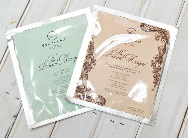 Eve Milan The Lacial Masque Sheet Mask Review