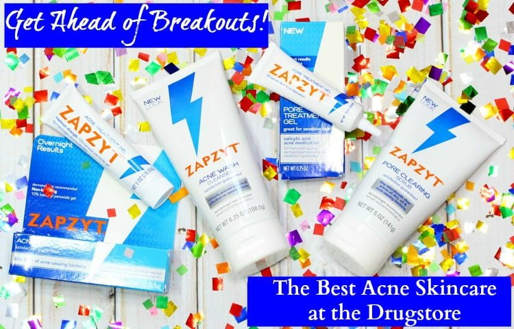 Get Ahead of Breakouts! The Best Acne Skincare at the Drugstore #lovezapzyt #zapmyzit