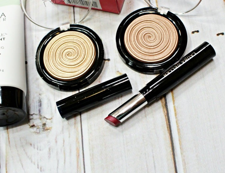 Laura Geller Flirt Lipstick Swatches