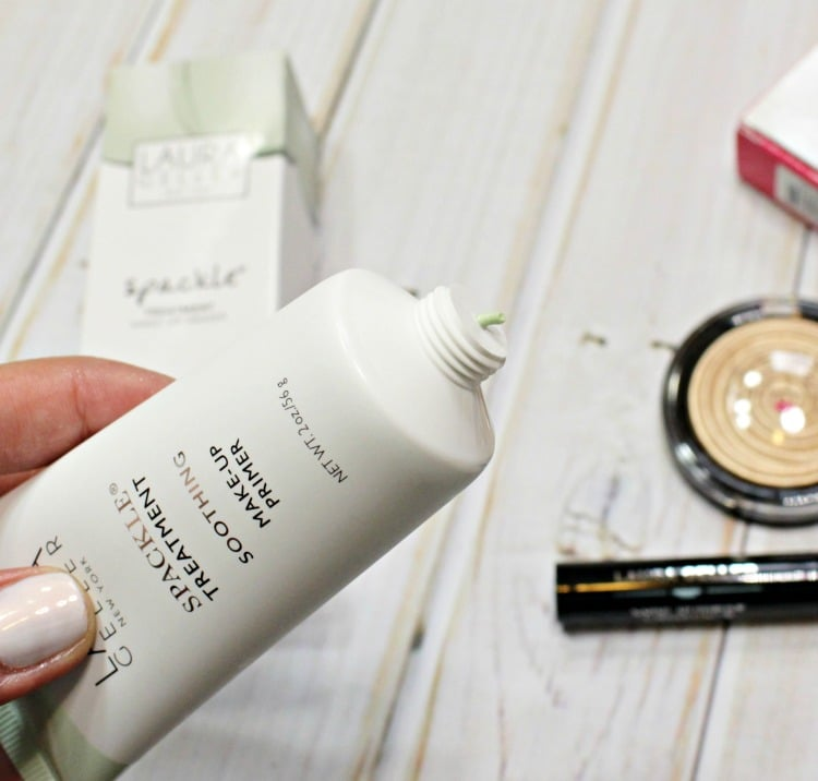 Laura Geller Spackle Treatment Soothing Makeup Primer Swatches Review