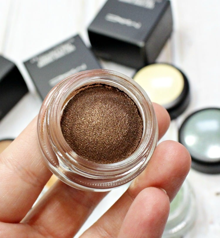 MAC Softened Up Soft Serve Shadow Swatches