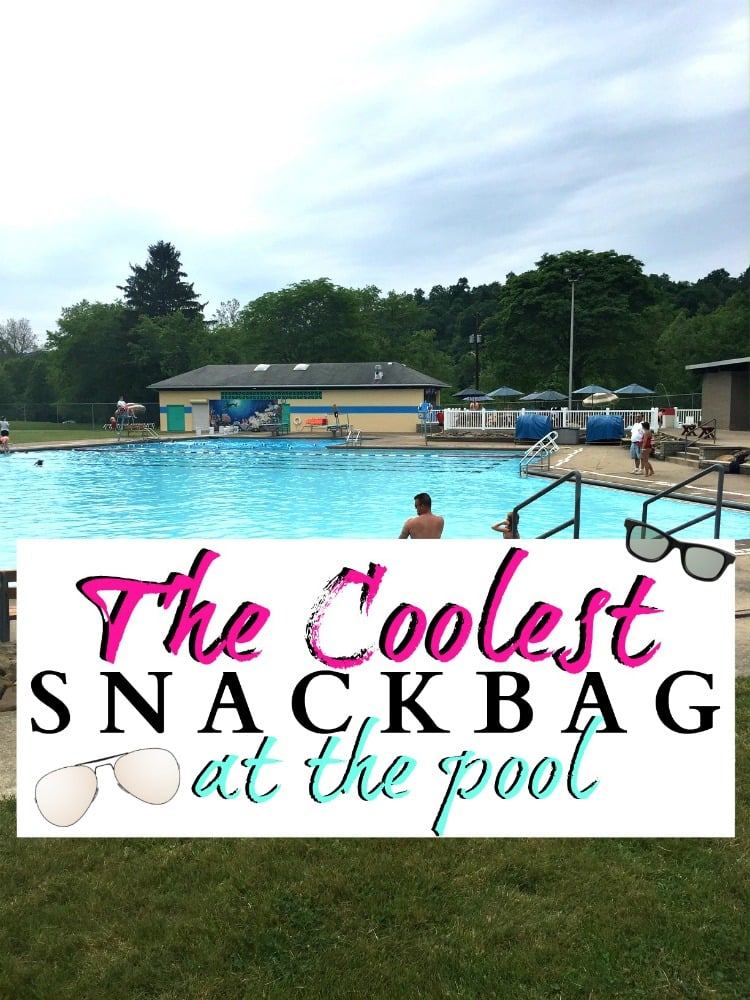 The coolest Snack Bag at the pool