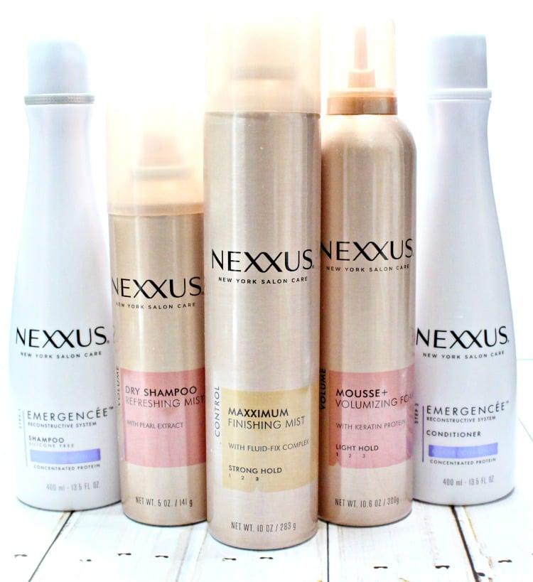 Nexxus Maximum Finishing Mist review 1