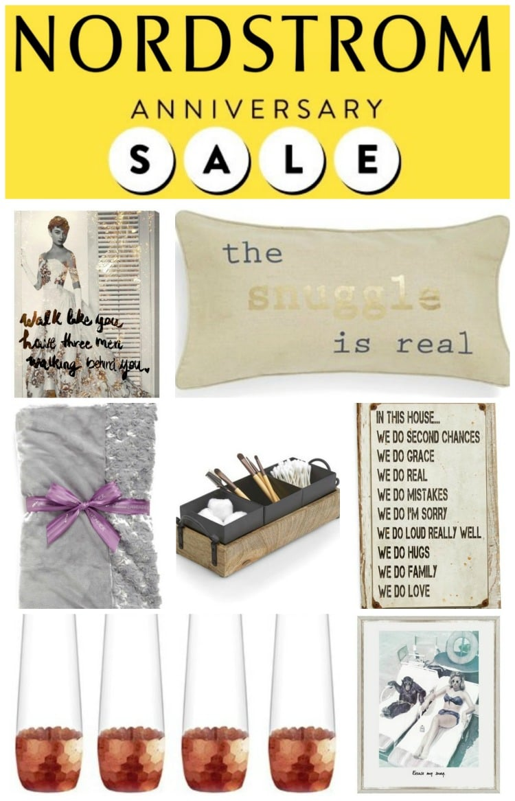 Nordstrom Anniversary Home Sale bed bath kitchen art